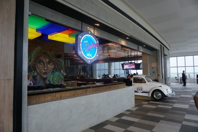 Seaside Saloon by The Social, SM Seaside City, Cebu