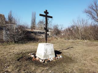 Посёлок Удачное. Площадка для строительства новой церкви