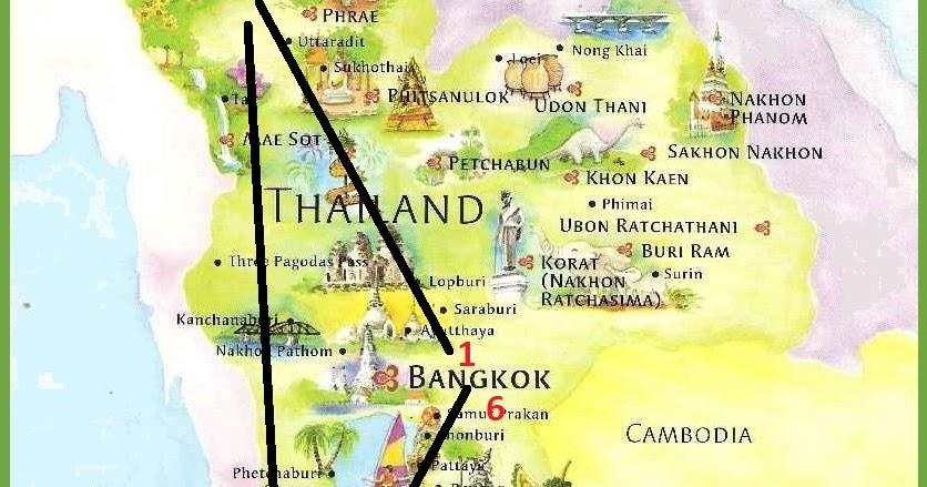Tajlandia Nasza Mapa Podrozy Ona Ci Doradzi
