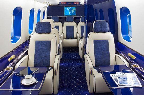 Sikorsky S-92 interior