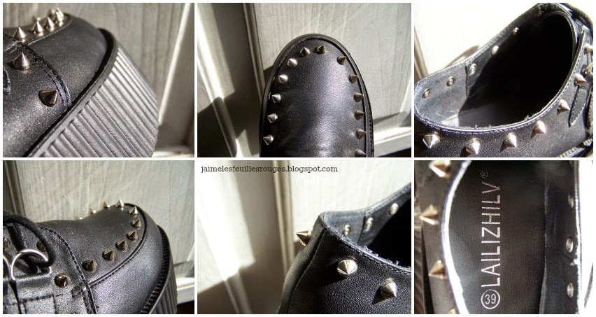 Review - Studded Creepers from Rosewholesale recensione