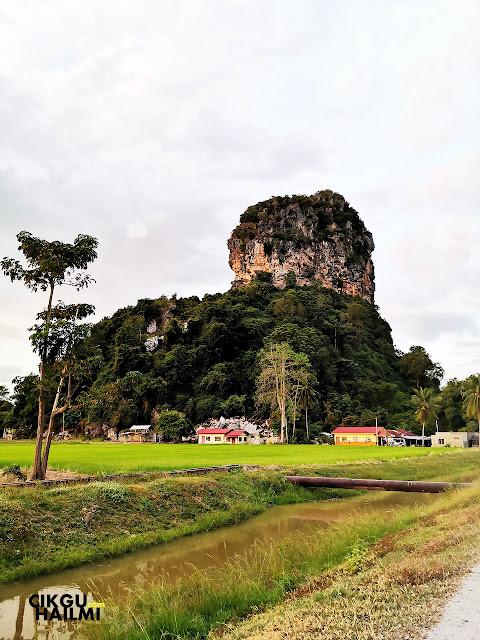 Inilah dia Bukit Kodiang yang juga dikenali sebagai Bukit Mok Cun!