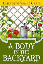 """A Body in the Backyard""--a Myrtle Clover Mystery. Nov. 2012"