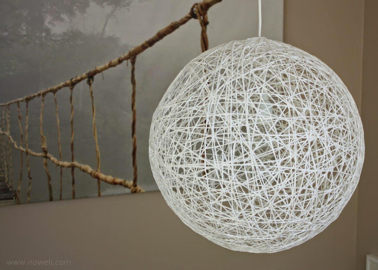 Noweli: Random String Pendant Lamp