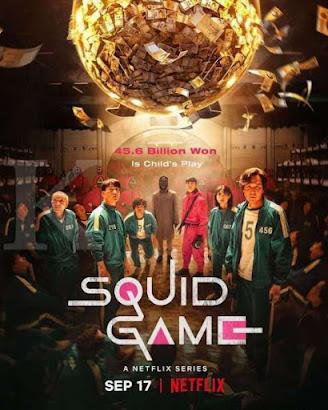 poster, squid, game, korea, netflix