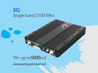 Repeater Resmi Penguat Sinyal Singleband 3G Wcdma Hsdpa 1 Watt