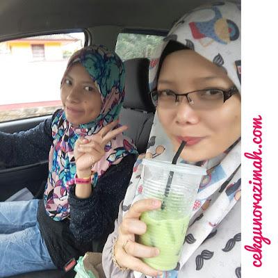 green tea RM2, pasar kemboja banting, green tea sedap,