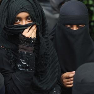 scarf black hijab