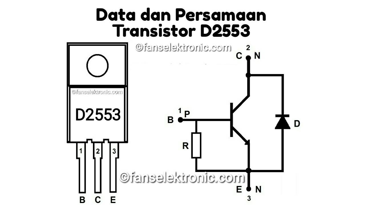 Persamaan Transistor D2553