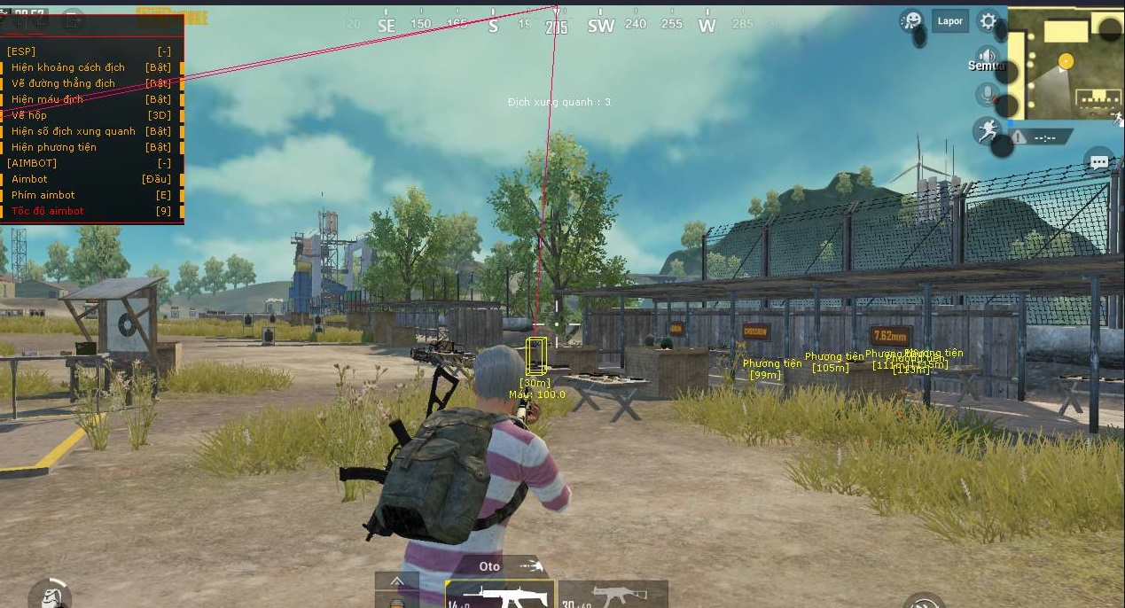 Download Cheat Wallhack Pubg Mobile Emulator Tencent 2019
