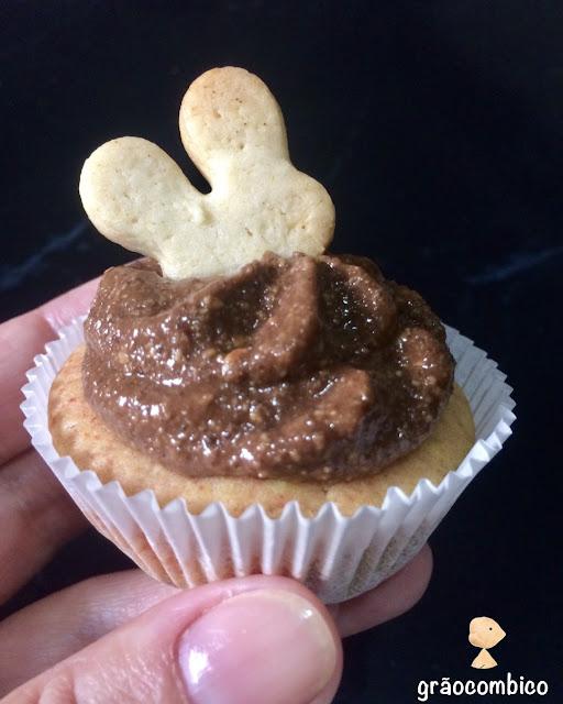 Cupcake de cúrcuma