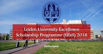 Beasiswa S2 di Leiden University 2018, Belanda