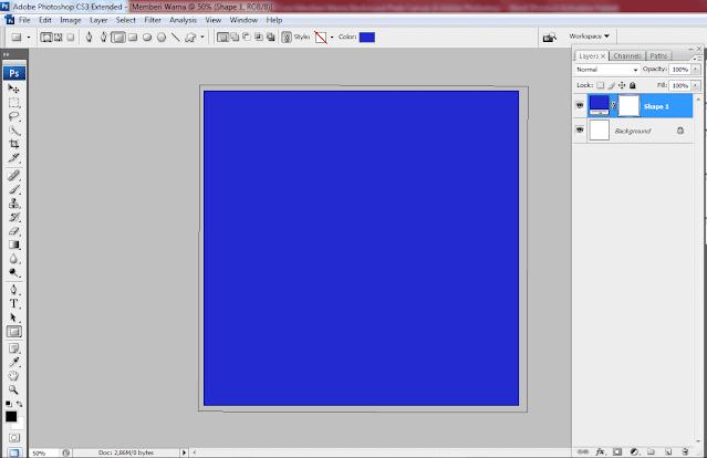 shape layer color