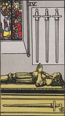 Four of Swords, RWS