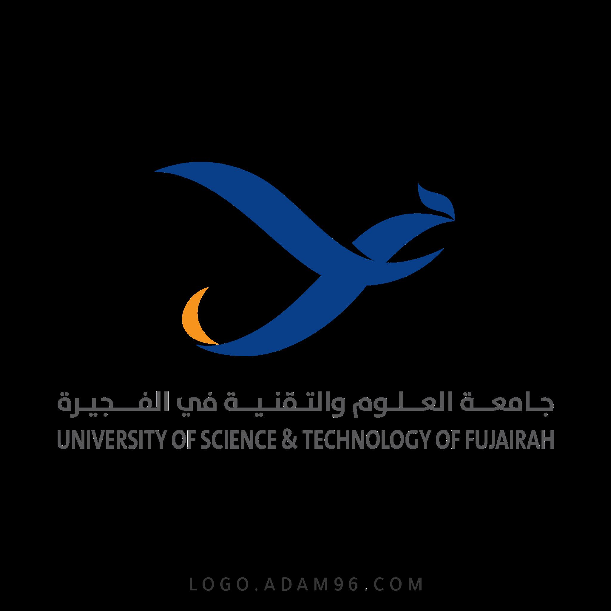 تحميل شعار الرسمي جامعة العلوم والتقنية في الفجيرة لوجو عالي الجودة بصيغة PNG