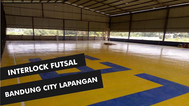 Jual Lantai Lapangan Interlock Futsal Bandung