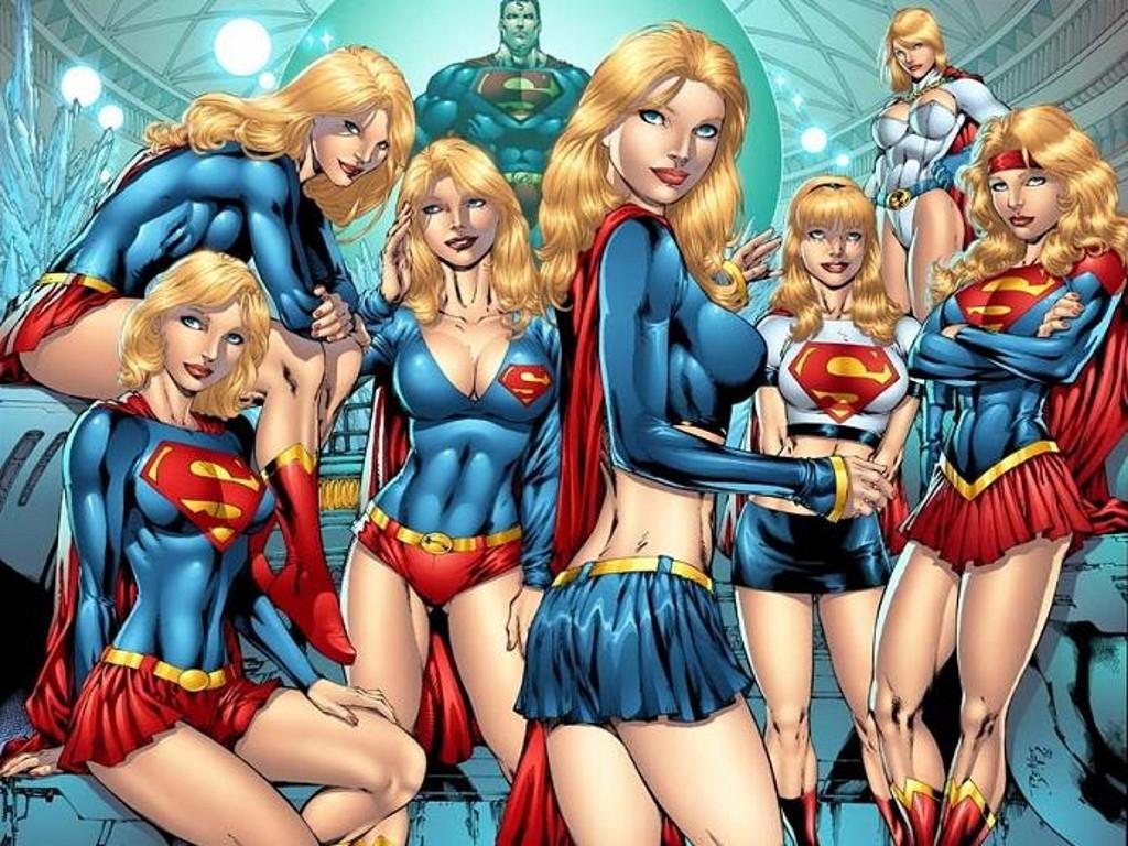 Sexy Female Superheroes