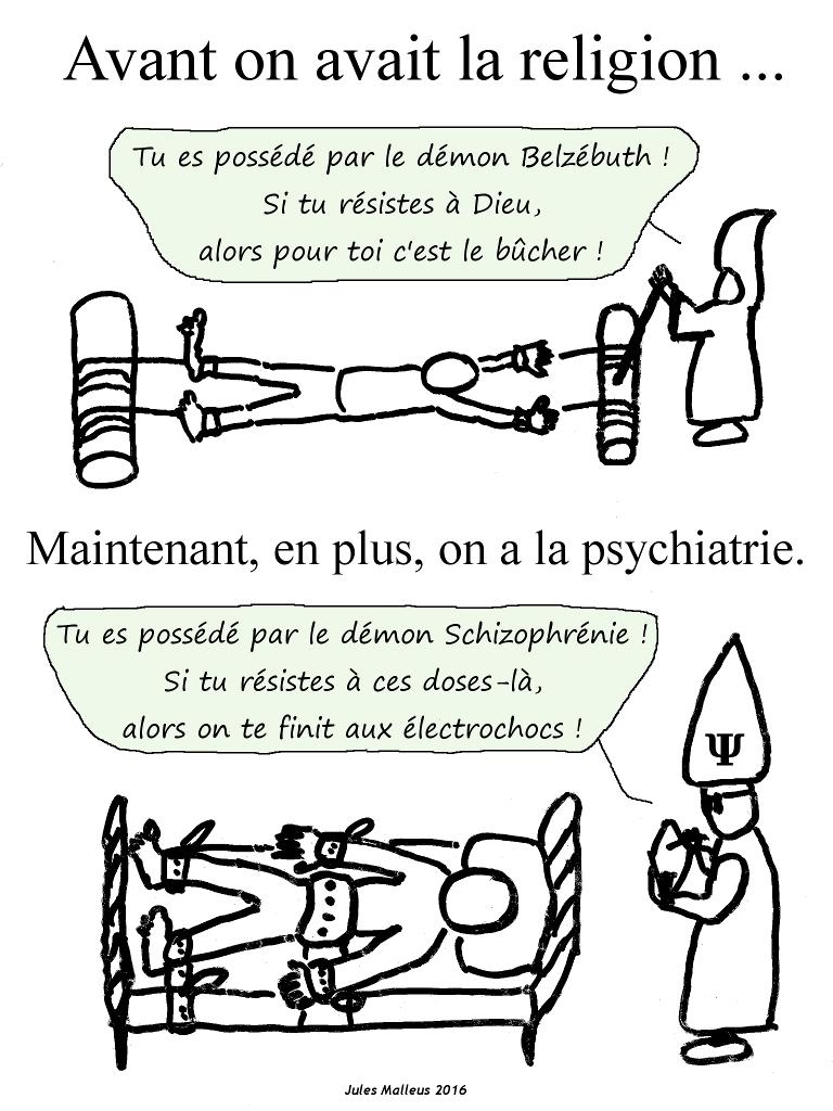 """Le démon """"schizophrénie"""""""