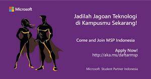 Komunitas Microsoft Student Partners untuk Mahasiswa - Pelajar