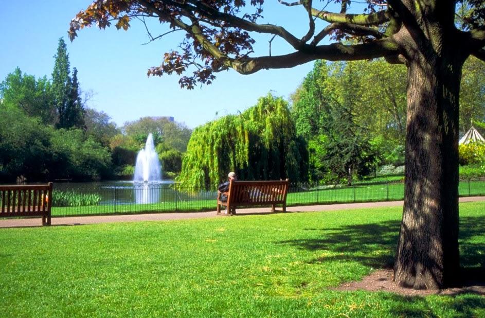 Parque Hyde Park em Londres