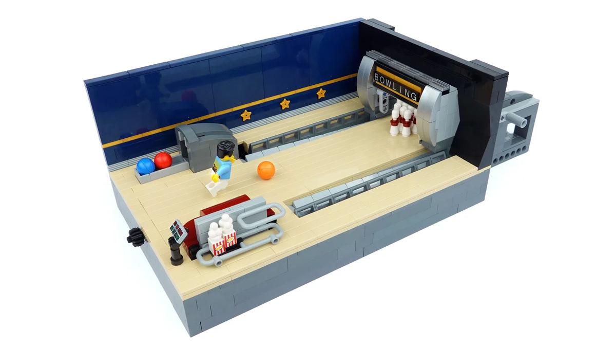 レゴアイデアで『動くボウリング場』が製品化レビュー進出!2021年第1回1万サポート獲得デザイン紹介