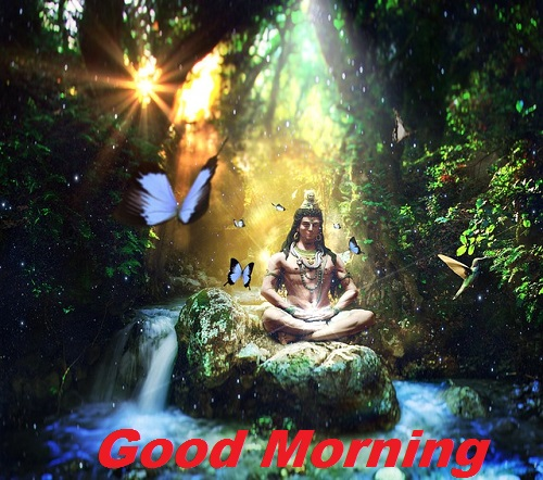 good morning shiva images