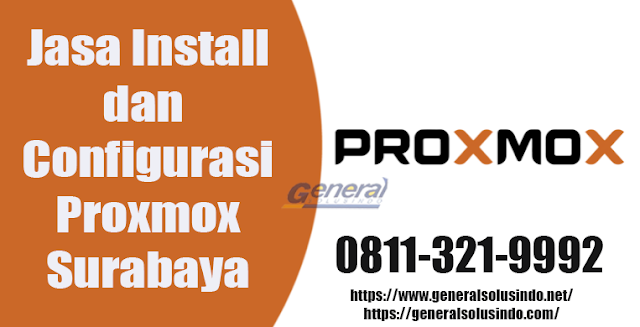 Jasa Install dan Configurasi Proxmox Surabaya