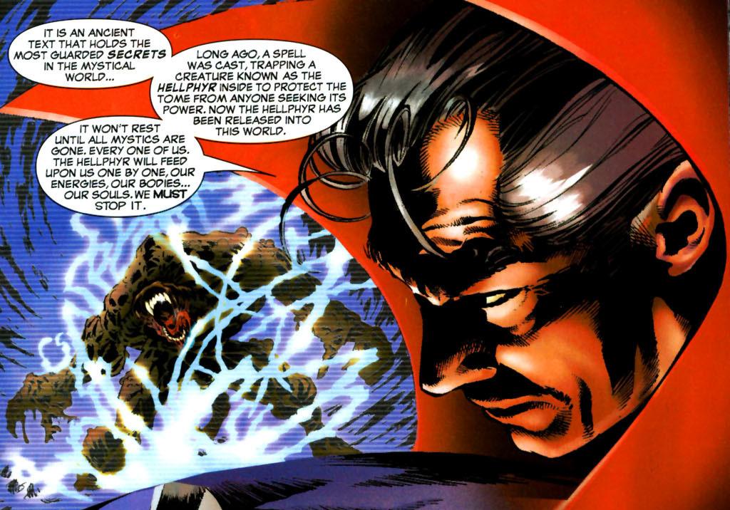 WandaVision episodio 8 Easter Egg citazioni curiosità fumetti Marvel Hellphyr