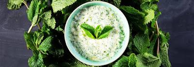 Mint yoghurt pilihan sarapan praktis lezat sehat