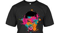 Lonnie Walker Paint Splatter T Shirts