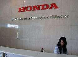 lowongan kerja honda prospect motor 2012