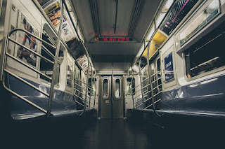 Image: Interior of an Empty NYC Subway, by Igor Ovsyannykov on Pixabay