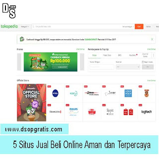 5 Situs Jual Beli Online Aman dan Terpercaya