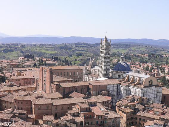 Duomo de Siena vista desde la Torre del Mangia