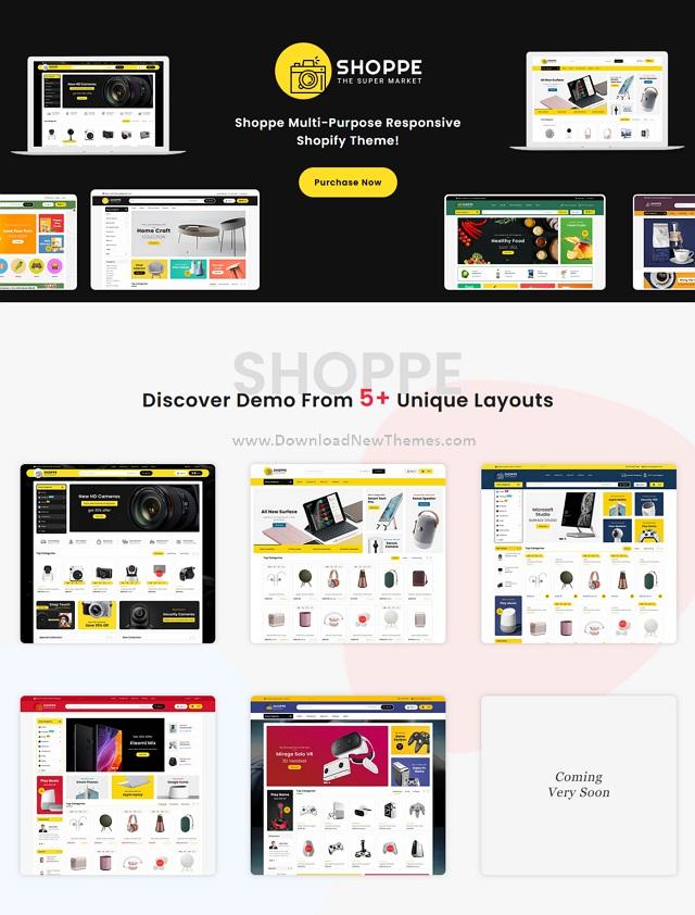 Shopify Multipurpose Responsive Theme