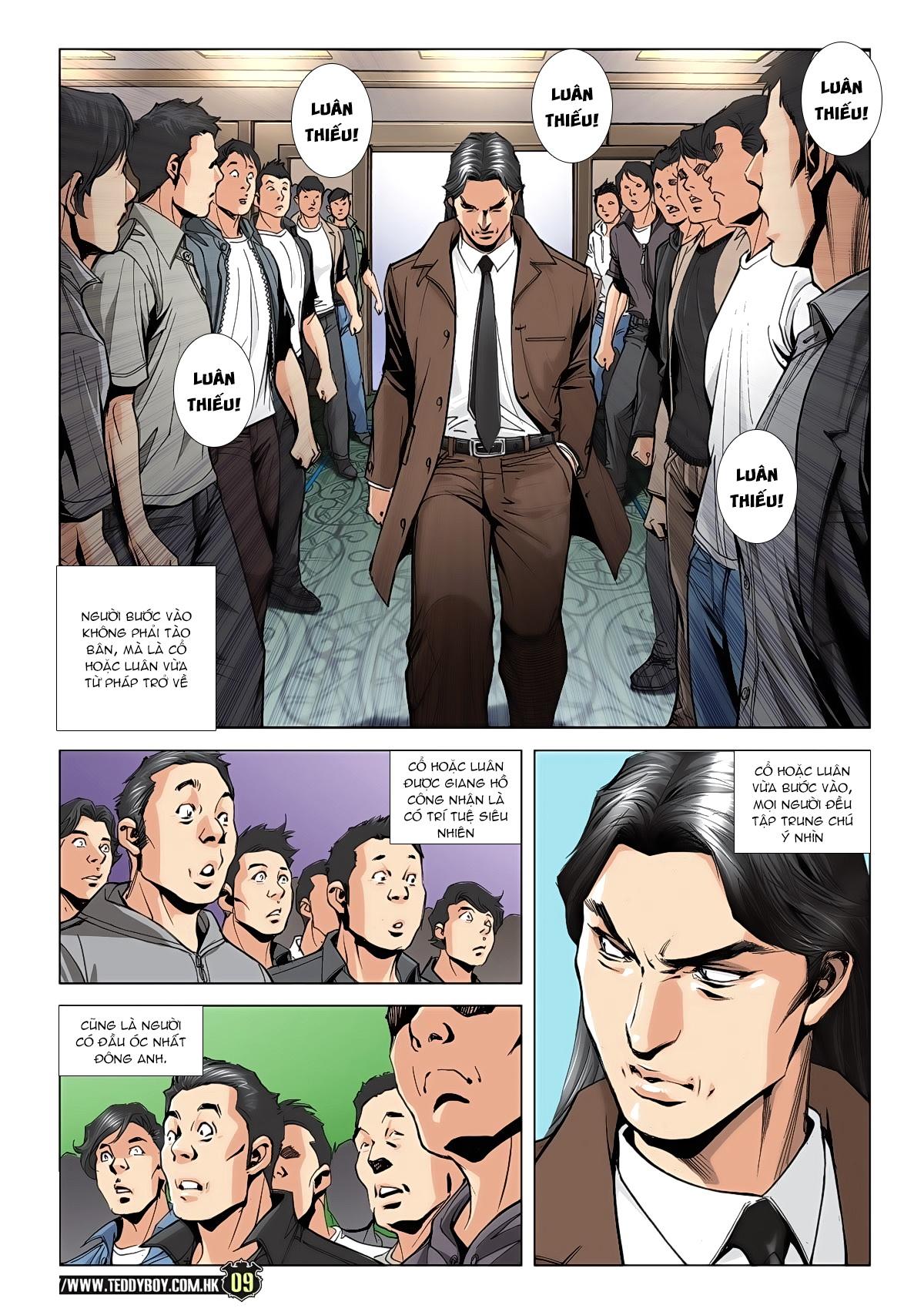 Người Trong Giang Hồ chapter 1942: trí tuệ chung cực trang 7