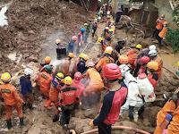 Seorang Warga Ditusuk Saat Salurkan Bantuan untuk Korban Bencana Longsor di Sumedang
