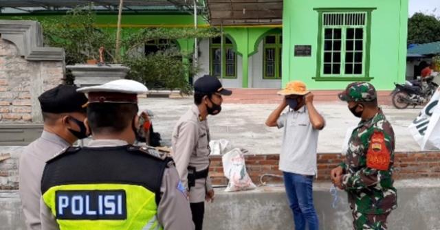 Operasi Yustisi Dilaksanakan Personel Jajaran Kodim 0207/Simalungun Bersama Instansi Terkait