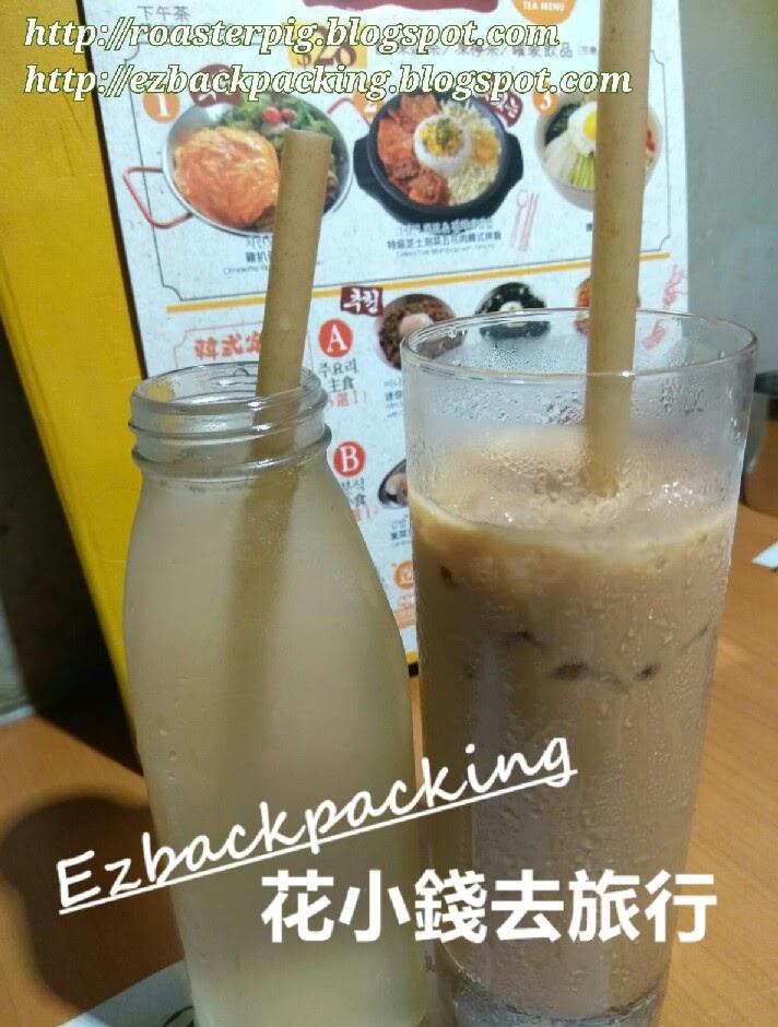 甜米水和凍奶茶