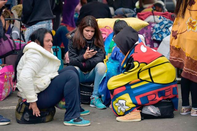 As Venezuela crumbles, exodus reaches record levels-ABC News