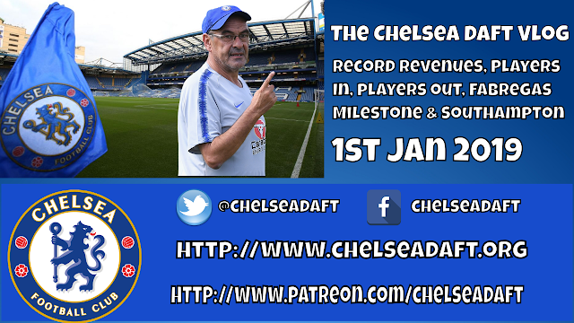Record revenues / Players in and Players out / Fabregas Milestone / Southampton / Chelsea Daft Vlog