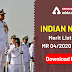 Indian Navy Merit List for MR 04/2020 Batch: Download here
