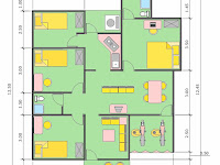 desain rumah minimalis ukuran 6x10 2 lantai