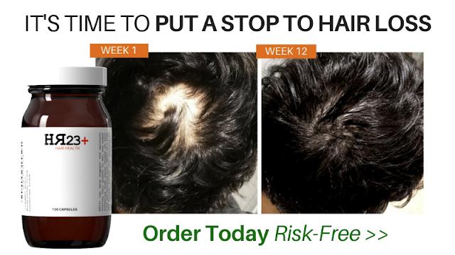 HR23+ hair restoration capsules