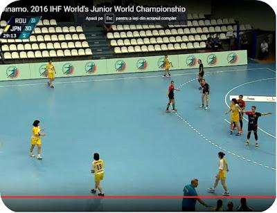 Romania 31 - Japonia 30