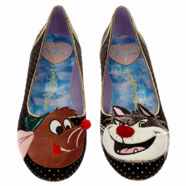 irregular choice lucifer & gus pumps