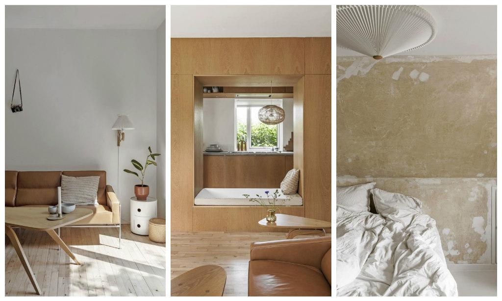 Idee salva-spazio in una casa danese