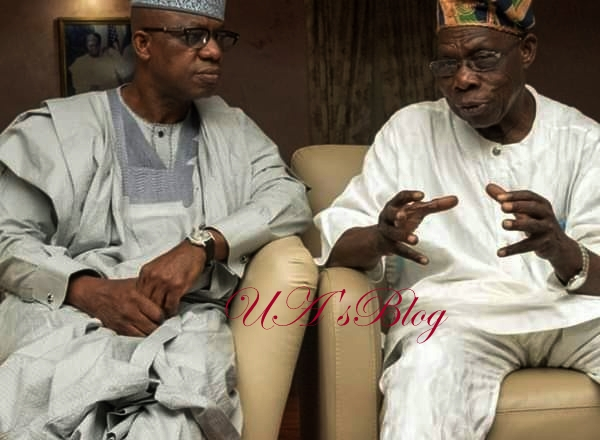 Obasanjo Storms Abiodun's Office With Important Advice