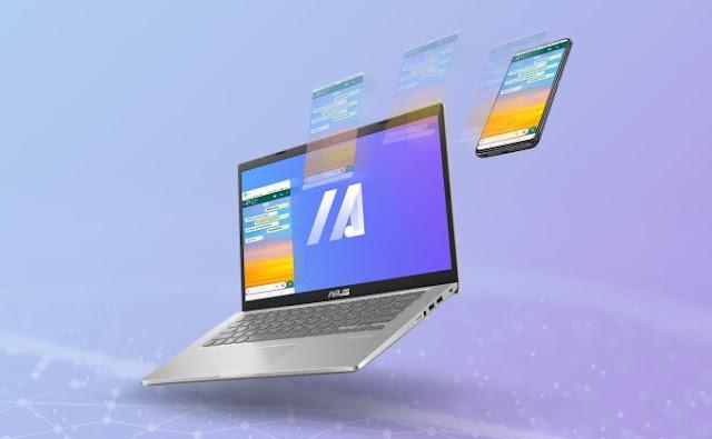 ASUS VivoBook 14 (A416) Aplikasi  MyASUS