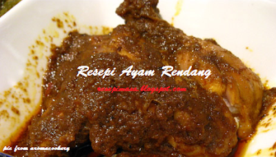 Resepi Ramadan Rendang Ayam 2017